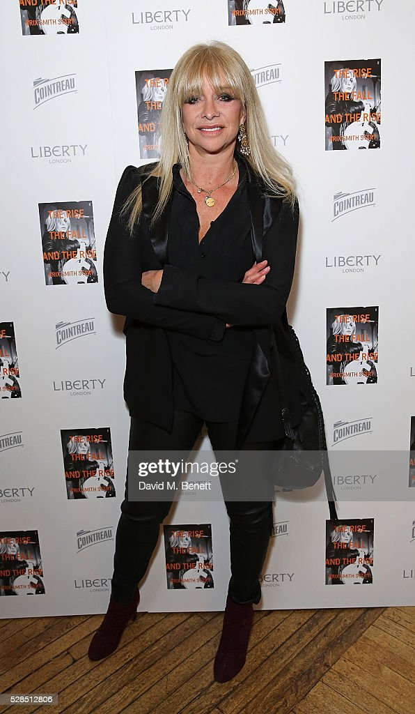 Jo Wood attends the Brix Smith Start Autobiography Launch at Liberty London on May 5, 2016 in London, England.