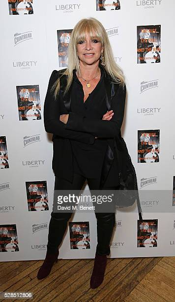 Jo Wood attends the Brix Smith Start Autobiography Launch at Liberty London on May 5 2016 in London England