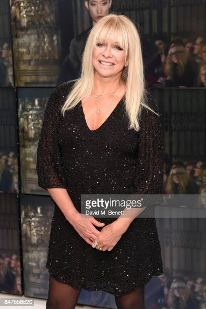 Jo Wood attends the Hallie BMWi Park Lane event on September 15 2017 in London England