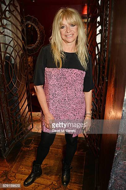 Jo Wood attends the launch of Coya London's all new Sunday brunch on May 8 2016 in London England