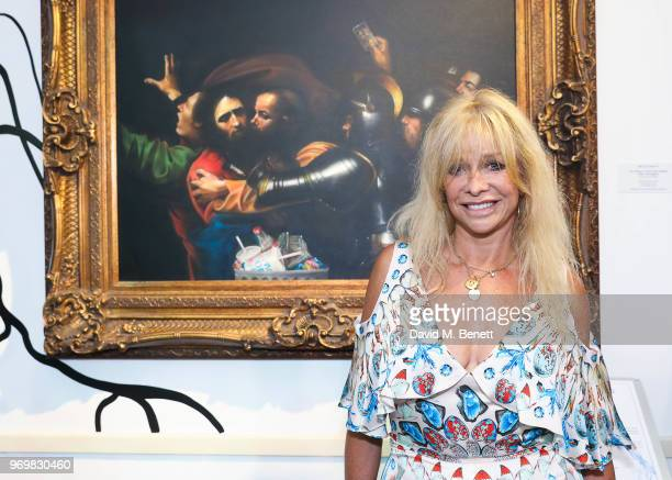 90ca4468a Jo Wood attends the launch of Sky Ocean Rescue s  Pass On Plastic Experience   on