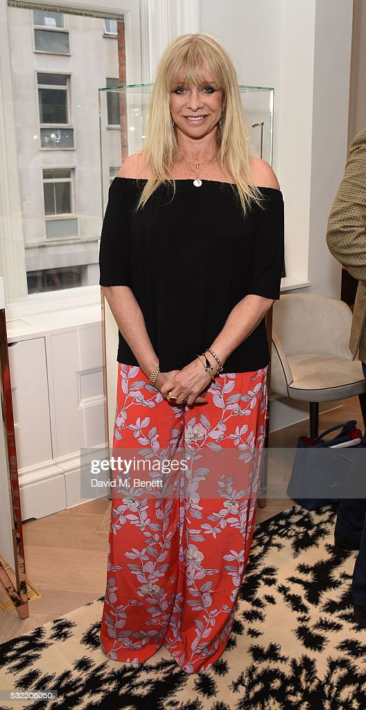 Jo Wood attends the launch of the Stephen Webster Salon on Mount Street on May 18, 2016 in London, England.