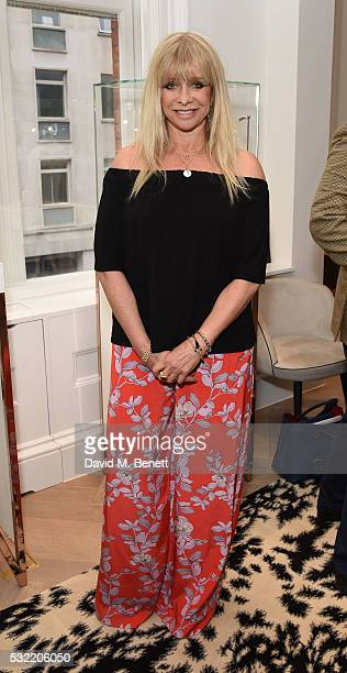 Jo Wood attends the launch of the Stephen Webster Salon on Mount Street on May 18 2016 in London England