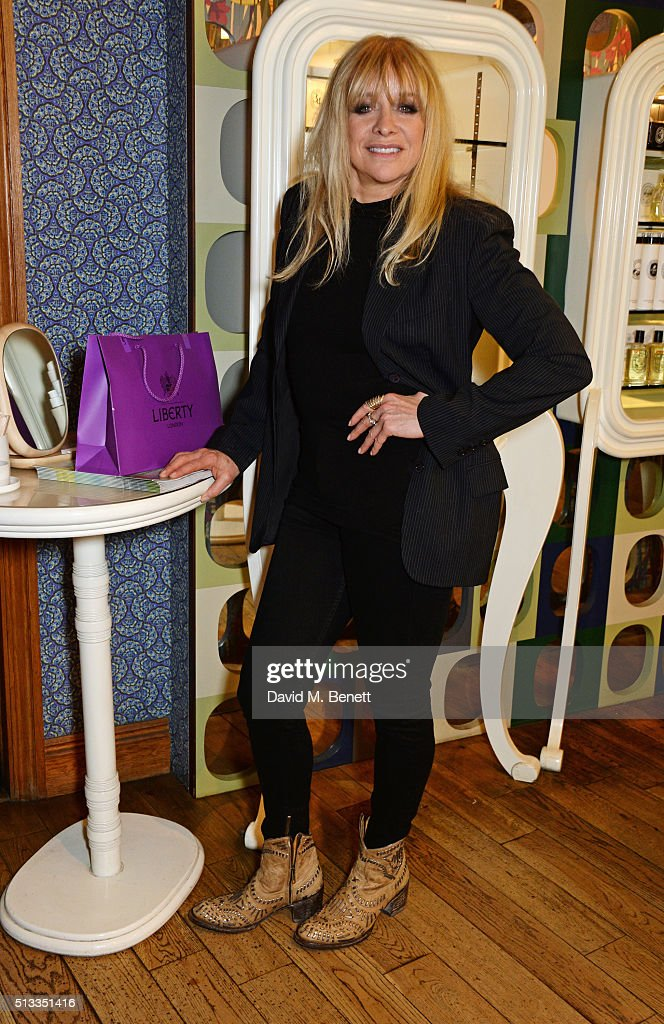 Jo Wood attends the Liberty x mothers2mothers charity event at Liberty on March 2, 2016 in London, United Kingdom.