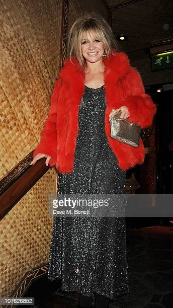 Jo Wood attends The Mahiki Christmas Party at Mahiki London on December 15 2010 in London England