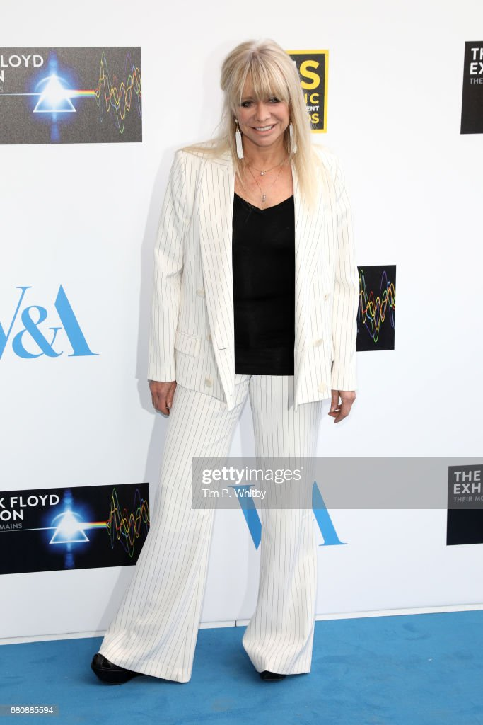 Jo Wood attends the Pink Floyd Exhibition: Their Mortal Remains at the V&A on May 9, 2017 in London, England.