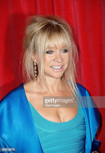 Jo Wood attends the UK premiere of Confessions of a Shopaholic held at the Empire Leicester Square on February 16 2009 in London England