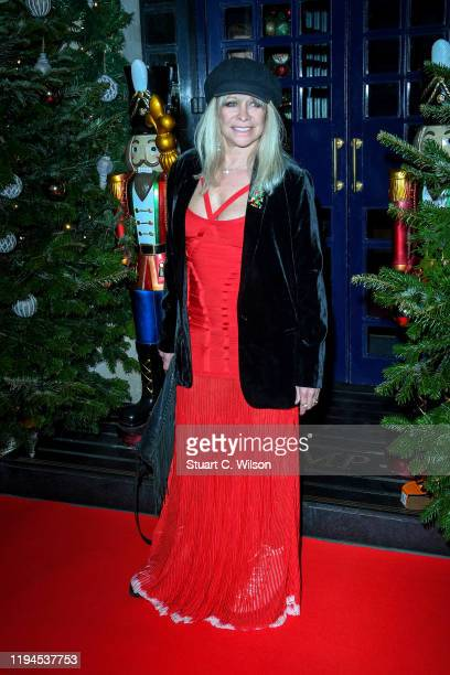 Jo Wood attends Tramp's Big 50th Anniversary at Tramp on December 17 2019 in London England