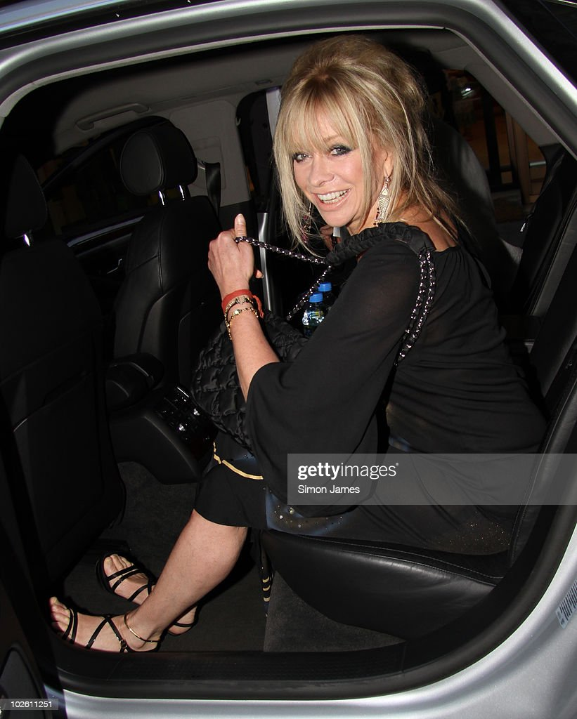 Jo Wood is sighted on July 3, 2010 in London, England.