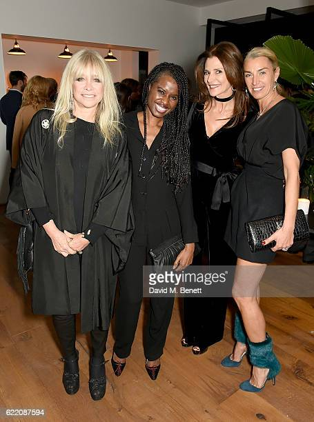 Jo Wood June Sarpong Julie Spiro and Anastasia Webster attend the anniversary party for Kelly Hoppen MBE celebrating 40 years as an Interior Designer...