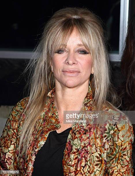 Jo Wood seen in the front row at the Christopher Kaneshow at London Fashion Week Autumn/Winter 2011 on February 21 2011 in London England