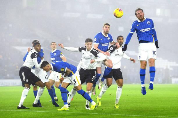 GBR: Brighton & Hove Albion v Fulham - Premier League