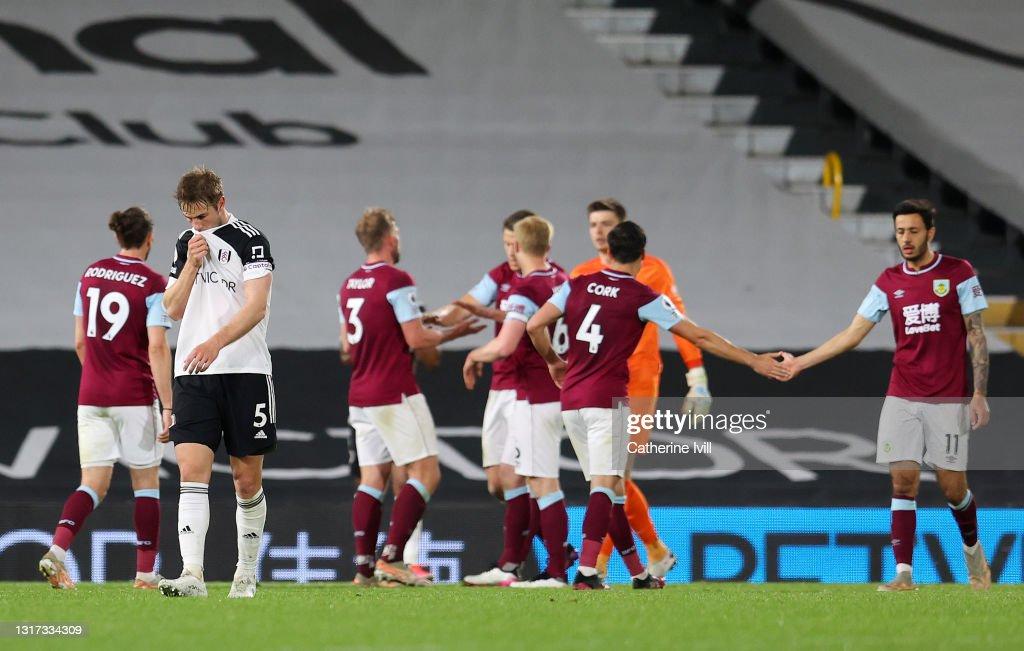Fulham v Burnley - Premier League : Foto di attualità