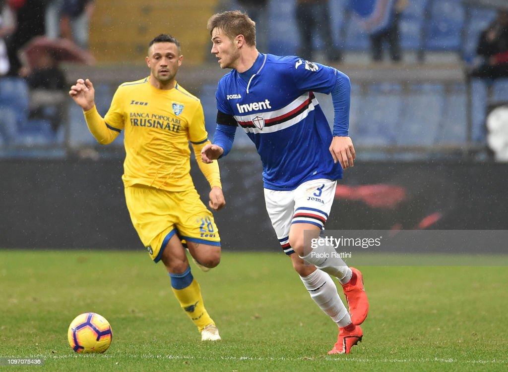 UC Sampdoria v Frosinone Calcio - Serie A : ニュース写真