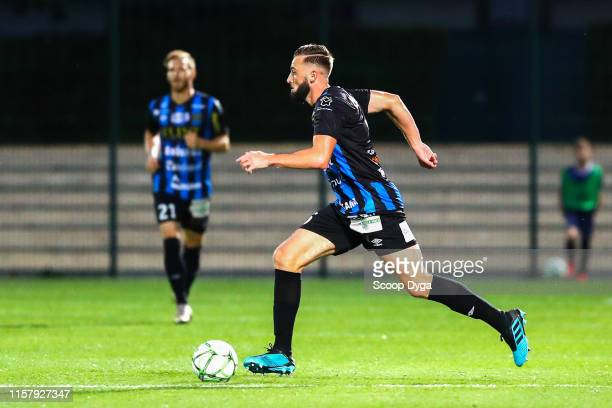 Joachim Eickmayer of Chambly during the Ligue 2 match between FC Chambly and Valenciennes FC at Stade Pierre Brisson on July 26 2019 in Beauvais...