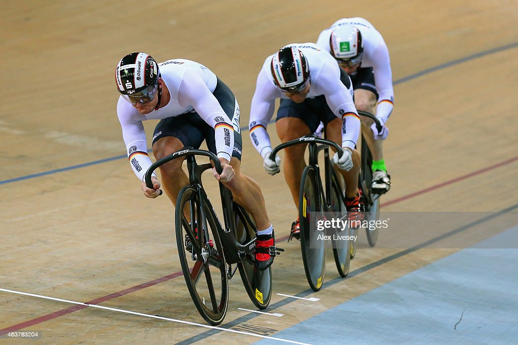 UCI Track Cycling World Championships - Day One