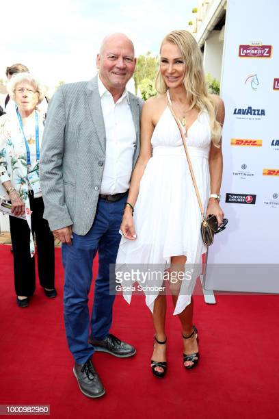 Markus Hennig and Hans Demmel ntv during the media night of the CHIO 2018 on July 17 2018 in Aachen Germany