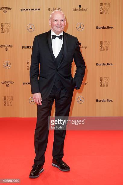 Joachim Hunold attends the Bambi Awards 2015 at Stage Theater on November 12 2015 in Berlin Germany