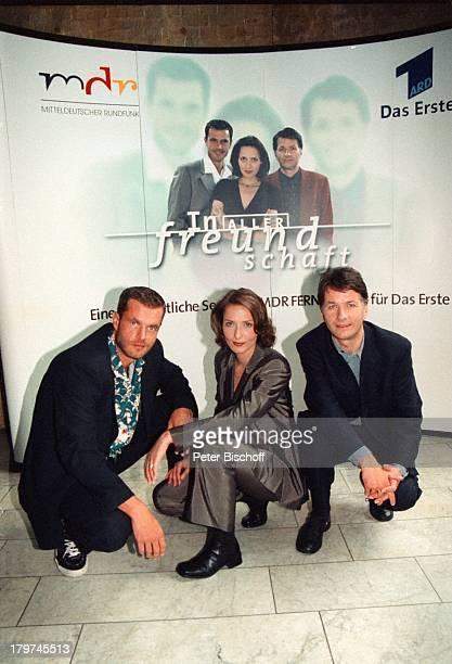 """Joachim Kretzer, Ina Rudolph, Thomas;Rühmann , ARD-Serie """"In aller;Freundschaft"""","""
