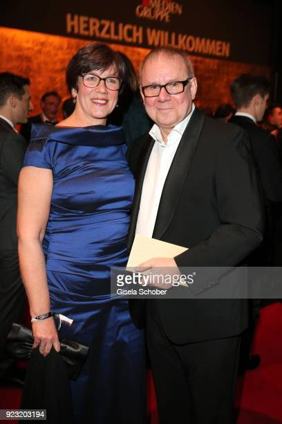 Joachim Krol and his wife Heidrun Teusner Krol during the Goldene Kamera reception on February 22 2018 at the Messe Hamburg in Hamburg Germany