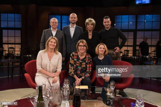 Joachim Krol Konja Simon Rohde Judy Winter Andreas Gabalier Tina Hassel Bettina Boettinger and Kassandra Wedel attend the 'Koelner Treff' TV Show at...