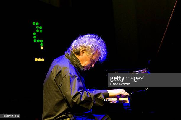 Joachim Kuhn performs on stage at the Queen Elizabeth Hall during the London Jazz Festival on November 17 2011 in London United Kingdom
