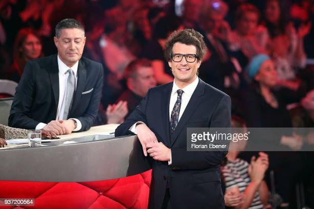 Joachim Llambi and Daniel Hartwich during the 2nd show of the 11th season of the television competition 'Let's Dance' on March 23 2018 in Cologne...