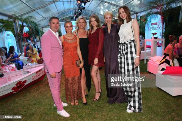 Joachim Llambi and his daughter Katharina Llambi Carola Ferstl and her daughter Lilly Ferstl Voglmaier and Susann Atwell and her daughter Ema Atwell...