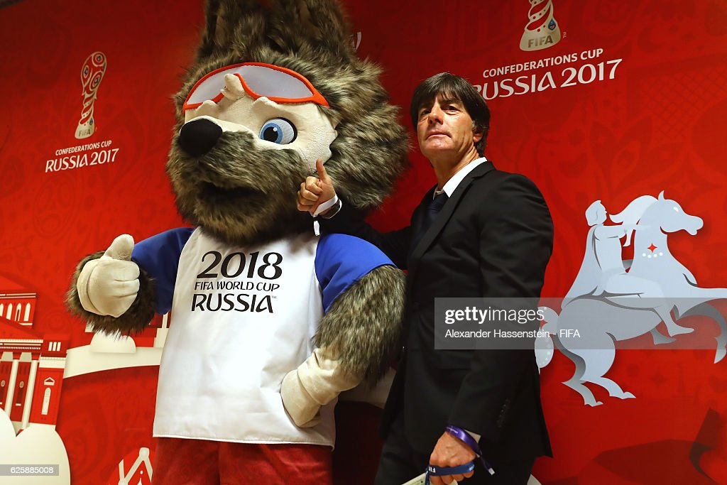 Official Draw for the FIFA Confederations Cup Russia 2017 : News Photo