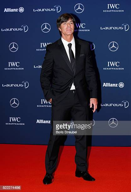 Joachim Loew head coach of the Germany football team attends the 2016 Laureus World Sports Awards at Messe Berlin on April 18 2016 in Berlin Germany
