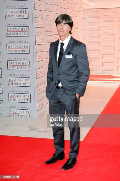Joachim Loew trainer of the German national soccer team during the German Media Award 2016 at Kongresshaus on May 25 2017 in BadenBaden Germany The...