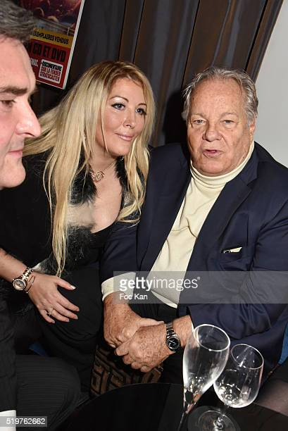 Joachim Murat Loana and Massimo Gargia attend 'Guitar Tribute' by Golden disc awarded Jean Pierre Danel at Hotel Burgundy on April 7 2015 in Paris...