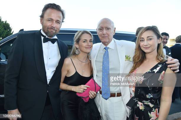 Joachim Ronning Amanda Hearst Remar Sutton and Rebecca Revel attend Hearst Castle Preservation Foundation Hollywood Royalty Dinner at Hearst Castle...