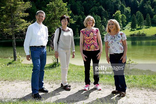 Joachim Sauer husband of German Chancellor Angela Merkel Malgorzata Tusk wife of European Council President Donald Tusk Akie Abe wife of Japanese...