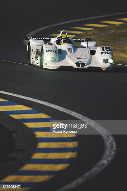 Joachim Winkelhock of Germany drives BMW Motorsport BMW V12 LMR during the ACO European Le Mans Series 24 Hours of Le Mans on 12 June 1999 at the...