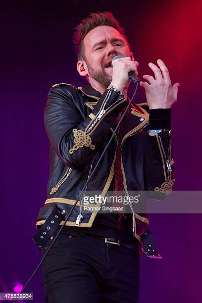 Joakim Berg of Kent performs onstage during the third day of the Bravalla Festival on June 27, 2015 in Norrkoping, Sweden.
