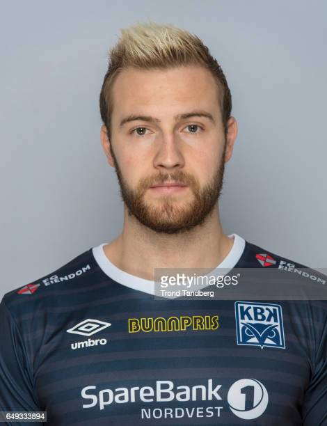 Joakim Bjerkaas of Team Kristiansund BK on March 7 2017 in Kristiansund Norway