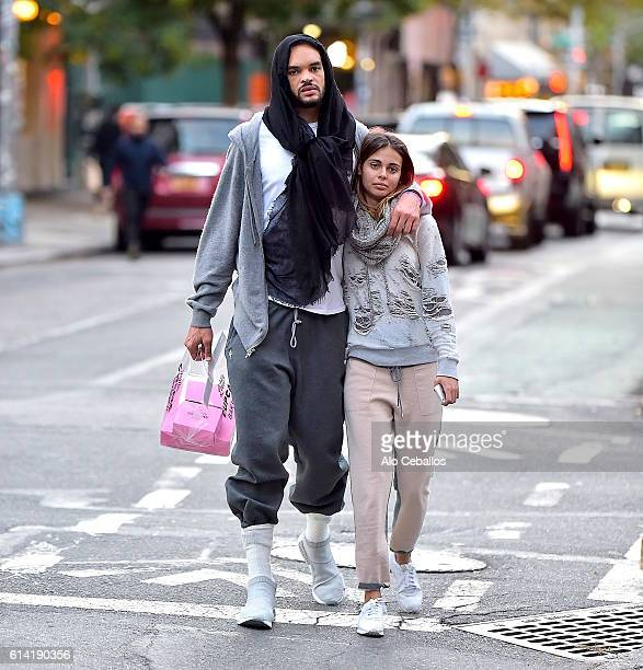 Joakim Noah is seen in Soho on October 12 2016 in New York City