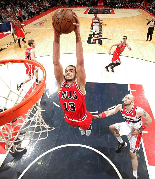 Joakim Noah of the Chicago Bulls