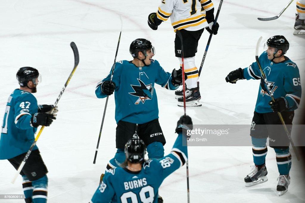 Boston Bruins v San Jose Sharks