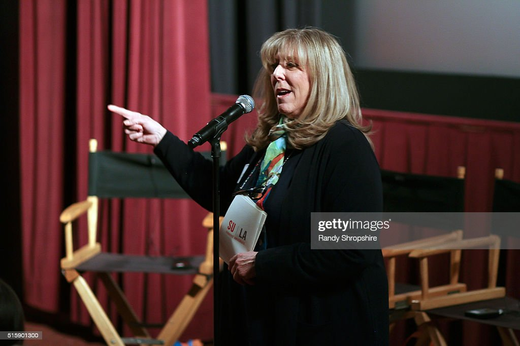 Joan Adler attends the Syracuse University Sophie Screening on March 15, 2016 in Beverly Hills, California.