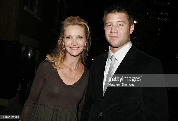 Joan Allen and Josh Stolz during 31st Annual Toronto International Film Festival Bonneville Afterparty at Monson in Toronto Canada