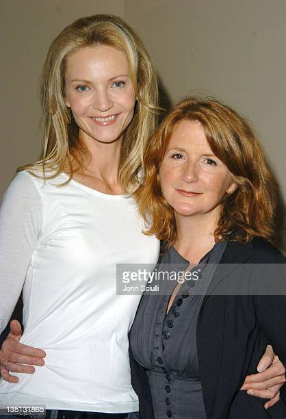 Joan Allen and Sally Potter director during 2004 Toronto International FIlm Festival Yes Premiere at Ryerson in Toronto Ontario Canada