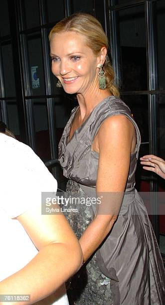 "Joan Allen attends the after party for ""The Bourne Ultimatum"" on August 15, 2007 in London."