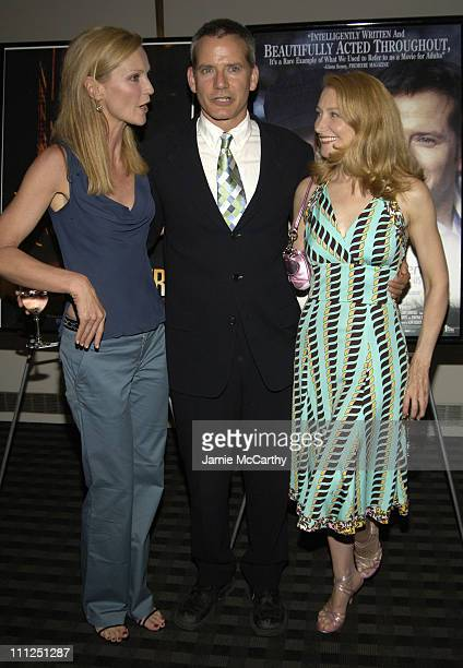 Joan Allen Campbell Scott and Patricia Clarkson during 5th Annual Young Friends of Film Honors Campbell Scott at Furman Gallery at The Walter Read...