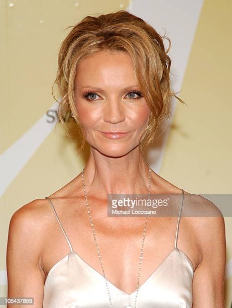 Joan Allen during 2005 CFDA Fashion Awards Arrivals at The New York Public Library in New York City New York United States