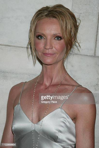 Joan Allen during 2005 CFDA Fashion Awards Inside at New York Public Library in New York City New York United States