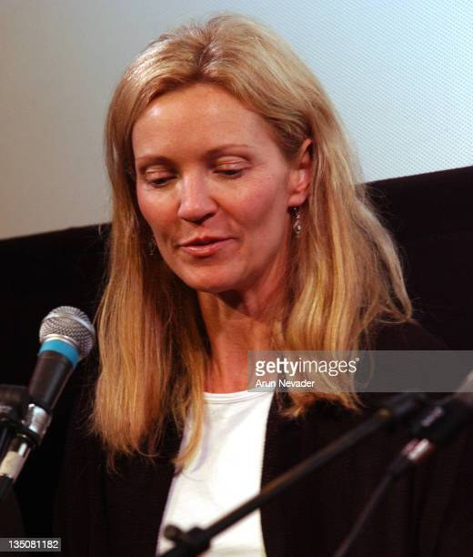 Joan Allen during 31st Telluride Film Festival Seminar on Female Actors at The Sheridan Opera House in Telluride Colorado United States