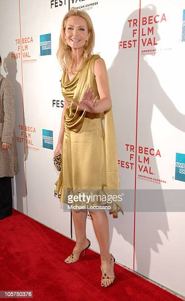 Joan Allen during 4th Annual Tribeca Film Festival Yes Premiere at Stuyvesant High School in New York City New York United States