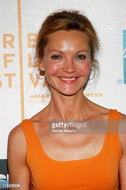 Joan Allen during 5th Annual Tribeca Film Festival Gala Screening of Poseidon at The Tribeca Performing Arts Center in New York City New York United...